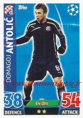 2015-16 - Topps UEFA Champions League Match Attax - N° 426 - Domagoj ANTOLIC (GNK Dinamo Zagreb)