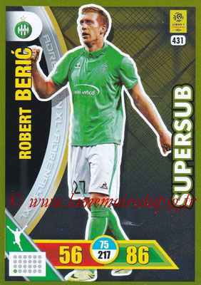 2017-18 - Panini Adrenalyn XL Ligue 1 - N° 431 - Robert BERIC (Saint-Etienne) (Supersub)