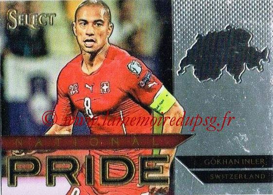 2015 - Panini Select Soccer - N° NP39 - Gokhan INLER (Suisse) (National Pride)