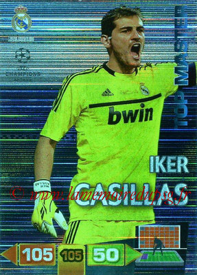 2011-12 - Panini Champions League Cards - N° 355 - Iker CASILLAS (Real Madrid CF) (Top Master)