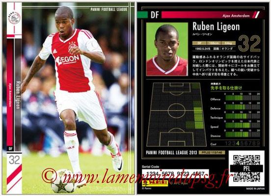 Panini Football League 2013 - PFL02 - N° 115 - Ruben Ligeon ( Ajax Amsterdam )