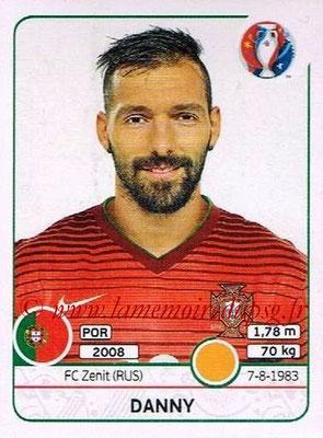 Panini Euro 2016 Stickers - N° 592 - DANNY (Portugal)