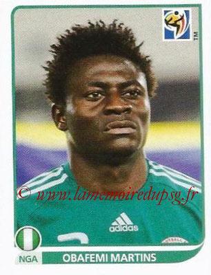 2010 - Panini FIFA World Cup South Africa Stickers - N° 142 - Obafemi MARTINS (Nigeria)