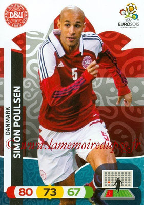 Panini Euro 2012 Cards Adrenalyn XL - N° 017 - Simon POULSEN (Danemark)