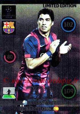2014-15 - Adrenalyn XL champions League N° LE-LS - Luis SUAREZ (FC Barcelone) (Limited Edition)