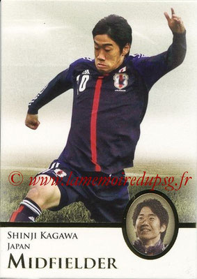 2013 - Futera World Football Unique - N° 124 - Shinji KAGAWA (Japon) (Midfielder) (Master)