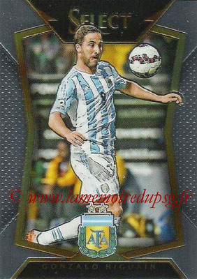 2015 - Panini Select Soccer - N° 064 - Gonzalo HIGUAIN (Argentine)