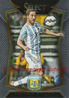 2015 - Panini Select Soccer - N° 064 - Gonzalo HIGUAIN (Argentine)