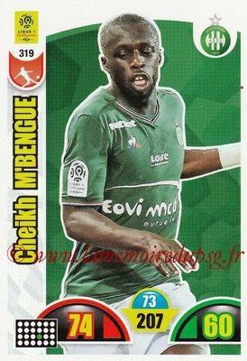 2018-19 - Panini Adrenalyn XL Ligue 1 - N° 319 - Cheikh M'BENGUE (Saint-Etienne)