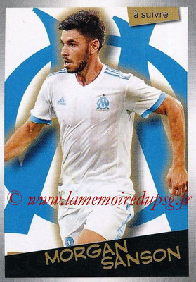 2017-18 - Panini Ligue 1 Stickers - N° 232 - Morgan SANSON (Marseille) (A suivre)
