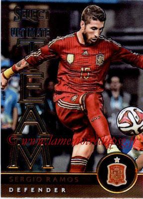 2015 - Panini Select Soccer - N° UT06 - Sergio RAMOS (Espagne) (Ultimate Team)