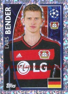 2015-16 - Topps UEFA Champions League Stickers - N° 327 - Lars BENDER (Bayer 04 Leverkusen)