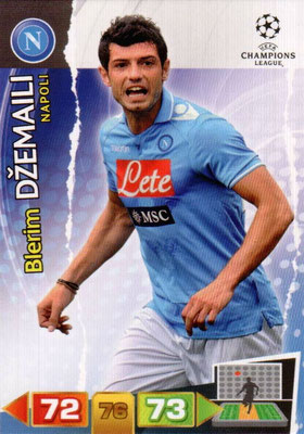 2011-12 - Panini Champions League Cards - N° 176 - Blerim DZEMAILI (SSC Naples)