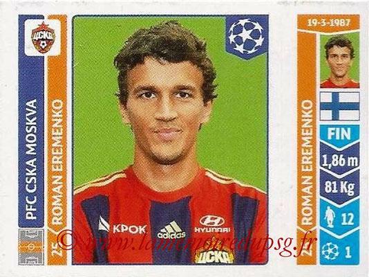 2014-15 - Panini Champions League N° 396 - Roman EREMENKO (PFC CSKA Moscou)