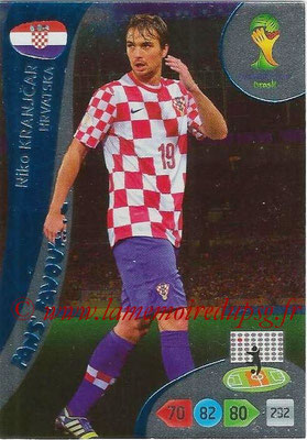 2014 - Panini FIFA World Cup Brazil Adrenalyn XL - N° 341 - Niko KRANJCAR (Croatie) (Fan's favorite)