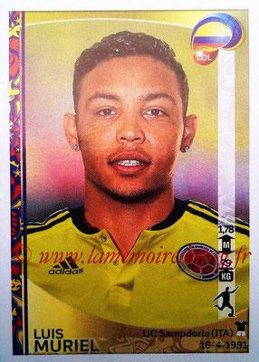 Panini Copa America Centenario USA 2016 Stickers - N° 058 - Luis MURIEL (Colombie)