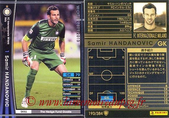 2012-13 - WCCF - N° 193 - Samir HANDANOVIC (Inter Milan)