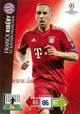 2012-13 - Adrenalyn XL champions League N° 051 - Franck RIBERY (FC Bayern Munich)