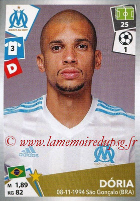 2017-18 - Panini Ligue 1 Stickers - N° 212 - DORIA (Marseille)
