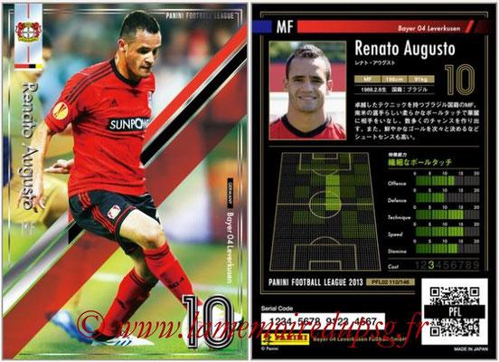 Panini Football League 2013 - PFL02 - N° 110 - Renato Augusto ( Bayer 04 Leverkusen )