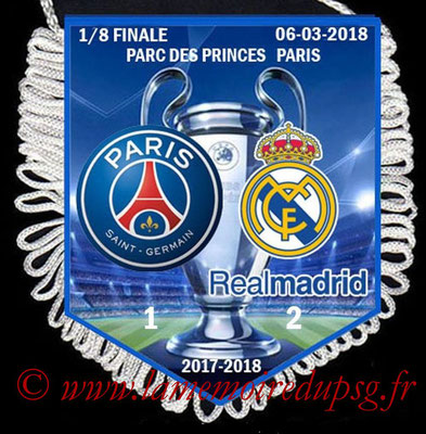 Fanion PSG-Real Madrid  2017-18
