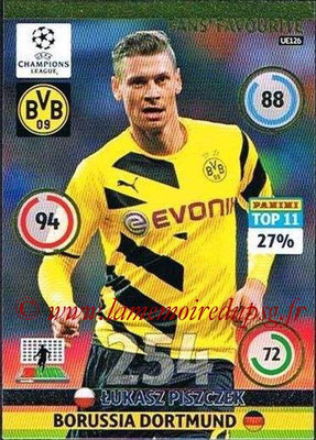 2014-15 - Adrenalyn XL champions League Update edition N° UE126 - Lukasz PISZCZEK (Borussia Dortmund) (Fans' Favourite)