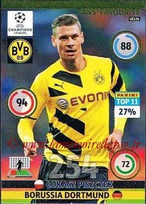 2014-15 - Adrenalyn XL champions League Update edition N° UE126 - Lukasz PISZCZEK (Borussia Dortmund) (Fans' Favourite)
