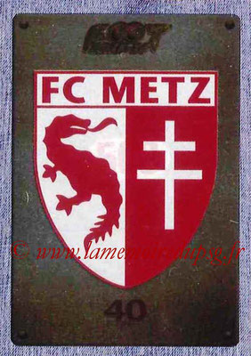 2015-16 - Panini Ligue 1 Stickers - N° 503 - Ecusson FC Metz