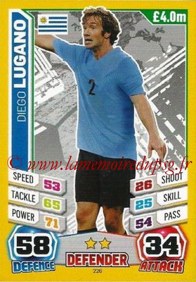 N° 226 - Diego LUGANO (2011-13, PSG > 2014, Uruguay)