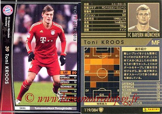 2012-13 - WCCF - N° 119 - Toni KROOS (FC Bayern Munich)