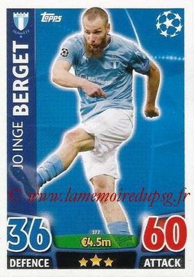 2015-16 - Topps UEFA Champions League Match Attax - N° 377 - Jo Inge BERGET (Malmö FF)
