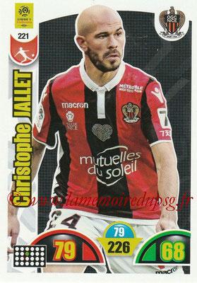 N° 221 - Christophe JALLET (2009-14, PSG > 2018-19, Nice)