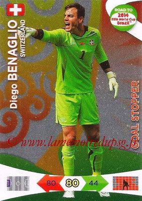 2014 - Panini Road to FIFA World Cup Brazil Adrenalyn XL - N° 219 - Diego BENAGLIO (Suisse) (Goal Stopper)