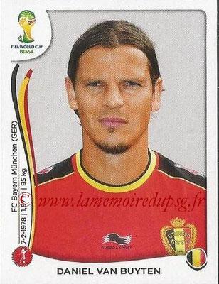 2014 - Panini FIFA World Cup Brazil Stickers - N° 570 - Daniel VAN BUYTEN (Belgique)