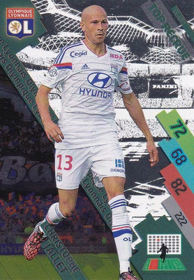 N° 319 - OL-UP2 - Christophe JALLET (2009-14, PSG > 2014-15, Lyon) (Top recrue)