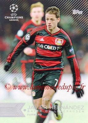 2015-16 - Topps UEFA Champions League Showcase Soccer - N° 115 - Javier HERNANDEZ (Bayer 04 Leverkusen)