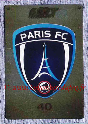 2015-16 - Panini Ligue 1 Stickers - N° 511 - Ecusson Paris FC