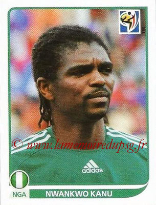 2010 - Panini FIFA World Cup South Africa Stickers - N° 139 - Nwankwo KANU (Nigeria)