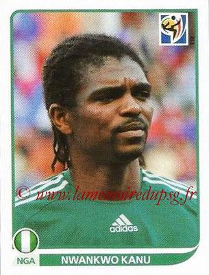 2010 - Panini FIFA World Cup South Africa Stickers - N° 139 - Nwankwo KANU (Nigeria)