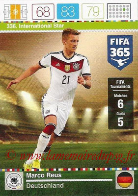 2015-16 - Panini Adrenalyn XL FIFA 365 - N° 336 - Marco REUS (Allemagne) (International Star)