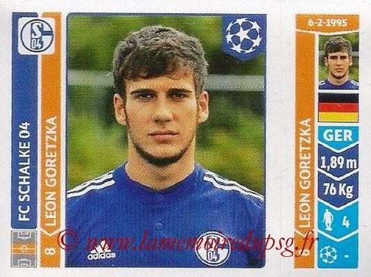 2014-15 - Panini Champions League N° 522 - Leon GORETZKA (FC Schalke 04)