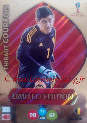 2018 - Panini FIFA World Cup Russia Adrenalyn XL - N° LE-TCO - Thibaut COURTOIS (Belgique) (Limited Edition)