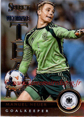 2015 - Panini Select Soccer - N° UT01 - Manuel NEUER (Allemagne) (Ultimate Team)