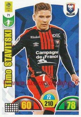 2018-19 - Panini Adrenalyn XL Ligue 1 - N° 071 - Timo STAVITSKI (Caen)