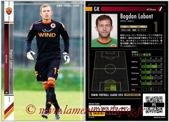 Panini Football League 2013 - PFL02 - N° 025 - Bogdan Lobont ( AS Roma )
