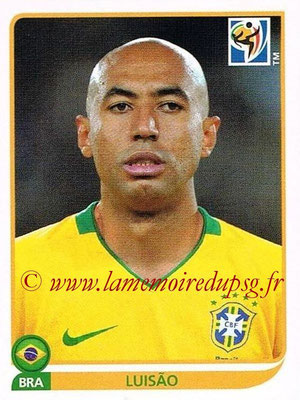 2010 - Panini FIFA World Cup South Africa Stickers - N° 491 - LUISAO (Brésil)
