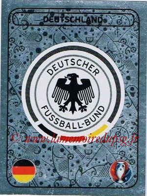 Panini Euro 2016 Stickers - N° 234 - Logo Allemagne