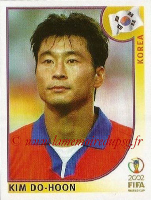 2002 - Panini FIFA World Cup Stickers - N° 255 - Kim DO-HOON (Corée)