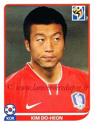 2010 - Panini FIFA World Cup South Africa Stickers - N° 159 - Kim DO-HEON (Corée du Sud)