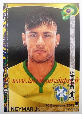 Panini Copa America Centenario USA 2016 Stickers - N° 133 - NEYMAR Jr. (Brésil)